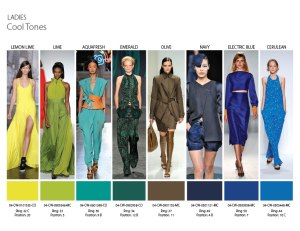 Cool Tones for Ladies