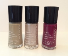 Mary Kay® City Modern Nail Lacquer Garden Terrace, Gallery Grey, Berry Stylish $9.50 each